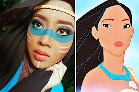 muslim makeup artist uses hijab to
