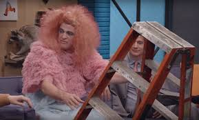 Watch Matt Besser as Bjork Sing an Ode to a Ladder on Comedy Bang ...