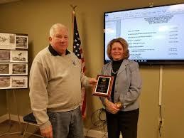 Award presented to former lake association president | Smith Mountain Lake  Local News | smithmountainlake.com