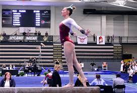 Gymnastics takes second at MIC Championships - Texas Woman's University  Athletics