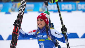 Dorothea Wierer wins the second sprint at the season, Tandrevold close