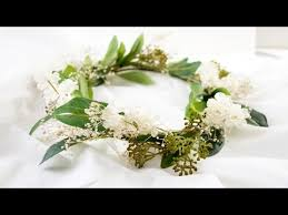diy flower crown quick and simple