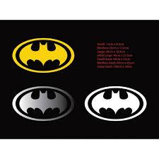 Batman Logo Car Sticker Outdoor Vinyl Decal Ozdeco T S Polonaiz