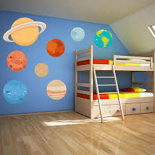Planet Wall Decals Space Wall Stickers Wall Decal World