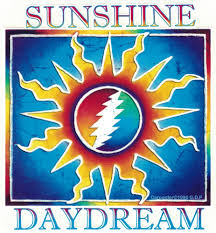 Grateful Dead Sunshine Daydream Window Sticker Decal Peace Resource Project
