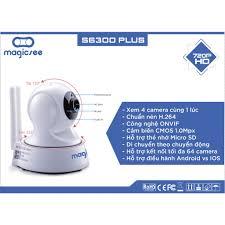Camera giám sát Magicsee S6300 Plus - HD720 - Phiên bản dành riêng cho  người Việt