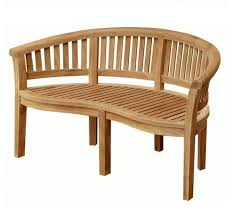 banana wooden bench indonesia furniture