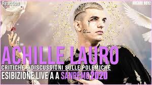 Achille Lauro - Me Ne Frego ( Sanremo 2020 )