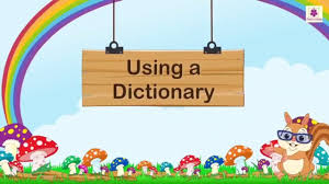 How To Use Dictionary For Kids ...