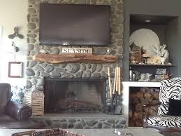 driftwood fireplace mantel decor