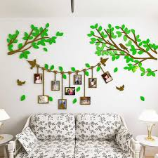 2017 New 3d Tree Photo Frame Wall Stickers Creative Photo Tree Living Room Sofa Bedroom Bedside Tv Wall Decoration Stickers Wall Stickers Aliexpress