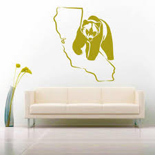 California Bear Vinyl Car Window Decal Sticker