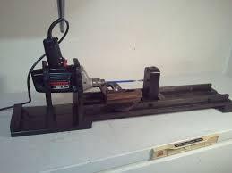 my homemade wood lathe modeling tools
