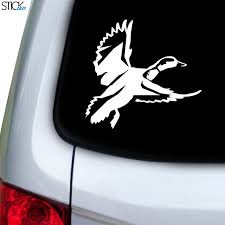 Duck Flying Decal For Car Window Stickany