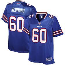 Adam Redmond Buffalo Bills NFL Pro Line Women's Team Color Player ...