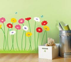 Painted Grass Room Ideas Google Search Flower Wall Stickers Flower Mural Flower Wall