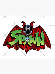 Spawn Bat Greeting Card By Aabdesign Redbubble