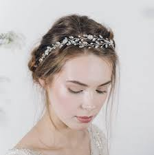 bohemian bridal headband or wedding