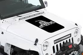 Don T Tread On Me Jeep Hood Blackout Rebel Decal