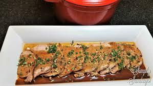 Dutch Oven Pork Roast – Simply Sundays!