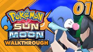 Pokémon Sun and Moon Walkthrough - Part 01: Who is the best ...