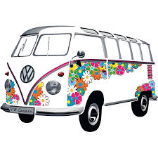 Vw Bus Wall Decal Drbuwt01