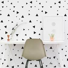 Dana Decals Multi Size Tiny Triangles Wall Decal Set Color Gold In 2020 Triangle Wall Wall Seating Wall Decor Bedroom