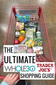 whole30 trader joe s ping guide