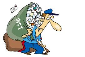 Image result for cartoon postman funny