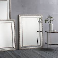 contemporary wall mirror marlebone