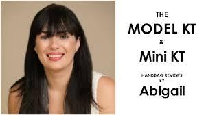 Model KT Leather Laptop Workbag and Mini KT Crossbody Handbag reviews by Abigail  Dixon - YouTube