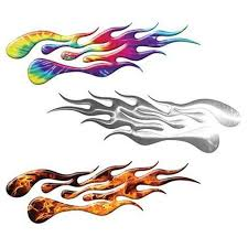 Weston Ink Extreme Flame Decals