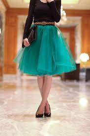 an easy tulle skirt tutorial everyday