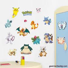 Pokemon Iconic 14 Wall Decals Room Decorations Pikachu Pokeball Decor Stickers 81964755