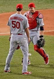 Adam wainwright and yadier molina   St louis cardinals baseball ...