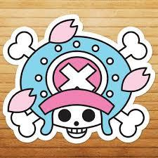 Chopper One Piece Jolly Roger Nursery Wall Car Die Cut Window Decal Sticker Ebay