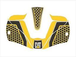 Lincoln Viking 2450 3350 Welding Helmet Wrap Decal Sticker Cat Caterpillar Y Ebay