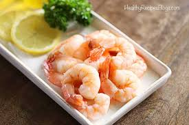easy boiled shrimp recipe healthy
