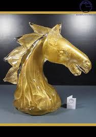 murano glass animals horse head