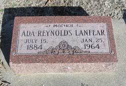 Ada Reynolds Lanfear (1884-1964) - Find A Grave Memorial