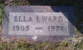 Ella Iva Hedgpeth Ward (1905-1978) - Find A Grave Memorial