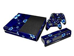 Urlife Full Body Screen Protector Cover Vinyl Carbon Fiber Skin Decal For Xbox One Console With 2 Free Xbox One Controller Skins Stickers Flower Fvazmrid 87