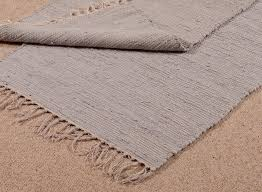 100 cotton rug blue grey door mat