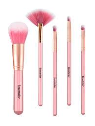 makeup brushes set wooden handle soft