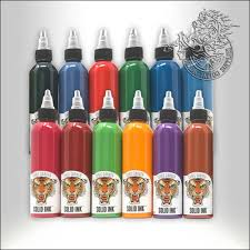Solid Ink 30ml Chris Garver Kit 12 Colors - Nordic Tattoo Supplies