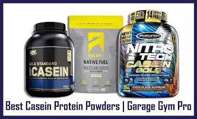 7 best casein protein powders on the