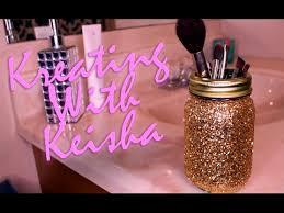 simple diy glitter mason jars you