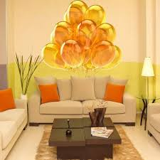 Shop Full Color Yellow Balloons Children Party Full Color Wall Decal Sticker Sticker Decal Size 44x44 Frst Overstock 15061652