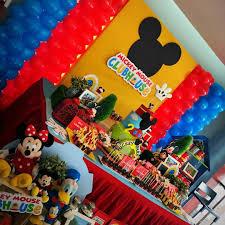 Fiesta De Cumpleanos De Mickey Mouse Guia Para Su Decoracion