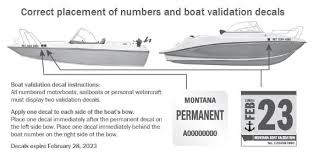 Montana Fish Wildlife Parks Register Boats